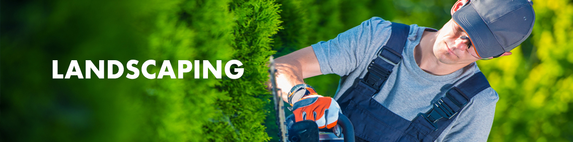 Category Banner - Landscaping Hire Banner